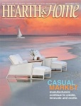Dolphin on the cover of, Hearth and Home